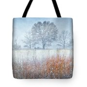 Snowy Field 2 - Winter At Retzer Nature Center  Tote Bag