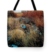 Snowy Field Tote Bag