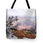 Snowy Frame - Grand Canyon Tote Bag