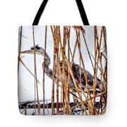 Snowy Heron? Tote Bag