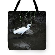 Snowy In The Mud Tote Bag