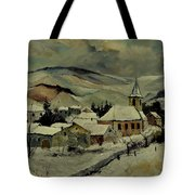 Snowy Landscape 780121 Tote Bag