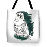 Snowy Owl II Tote Bag