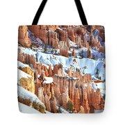 Snowy Queen's Garden  Tote Bag