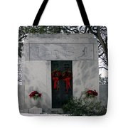 Snowy Rest Tote Bag