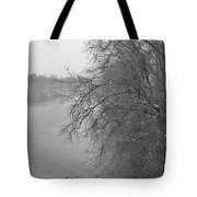 Snowy River        Landscape          Indiana Tote Bag