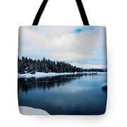 Snowy River Banks Tote Bag