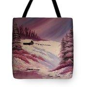 Snowy Summer Tote Bag