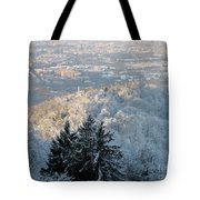 Snowy Turin Tote Bag