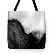 Snowy Underhang Tote Bag