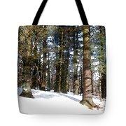 Snowy Wilderness Tote Bag