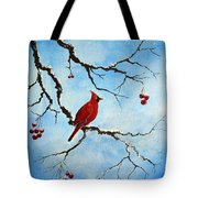 Snowy Wonder Tote Bag