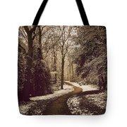 Snowy Woodland Walk One Tote Bag