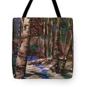 Snowy Woods Tote Bag