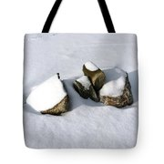 Snowy Zen Tote Bag