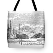 Snug Harbor Alaska Anchorage Tote Bag