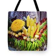 So, Elephants Eat Red Hot Chile Tote Bag