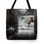 So What...the Water Tank Tote Bag