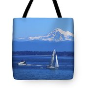 Soaking Up The Beautiful July Weather Tote Bag
