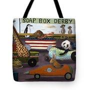 Soap Box Derby Tote Bag