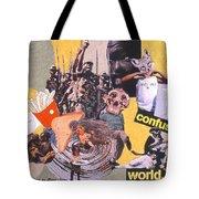Soap Scene #13 Confused World Tote Bag