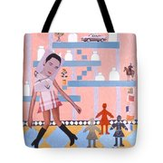 Soap Scene #16 Miracle Maids Tote Bag