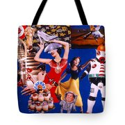Soap Scene #23 Oscar's Kiss Of Success Tote Bag