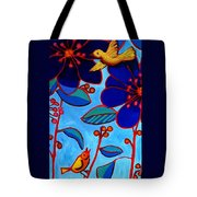 Soaring And Blooming Tote Bag