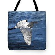 Soaring Egret Tote Bag