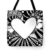 Soaring Heart  Tote Bag
