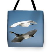 Soaring Over Still Waters Tote Bag