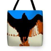 Soaring Raptor Tote Bag