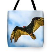 Soaring Vulture Tote Bag