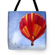 Soaring With The Birds Tote Bag