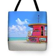 Sobe Lifeguard Tote Bag