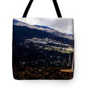 Socal Fire Road Tote Bag