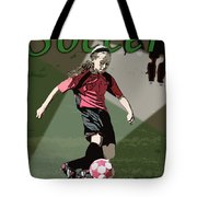 Soccer Style Tote Bag