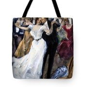 Society Ball, C1900 Tote Bag