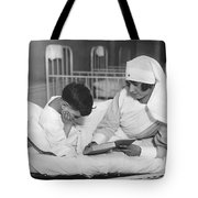 Society Girls Volunteer Time Tote Bag