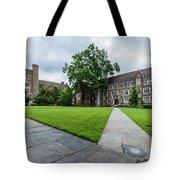 Sociology-psychology Building At Duke University Tote Bag