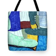 Socks And Shoes Tote Bag