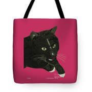 Socks Portrait Tote Bag