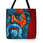 Socrates Look Tote Bag