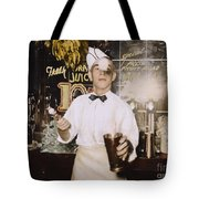 Soda Jerk, 1939 Tote Bag