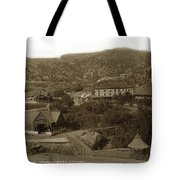 Soda Springs And Cliff House In Manitou, Colorado Tote Bag