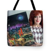 Sofia Goldber - About Mars Civilization. 5 Tote Bag