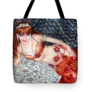 Sofia Metal Queen. Ameynra Bellydance Star Model Tote Bag