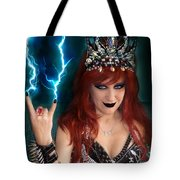 Sofia Metal Queen. Metal Is Lifestyle Tote Bag