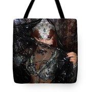 Sofia Metal Queen - Black Metal Bellydancer Model Tote Bag