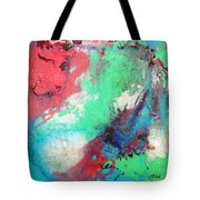 Soft Abstract Tote Bag